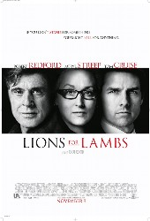 cover Lions for Lambs
